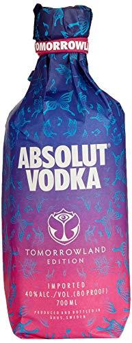 Absolut Vodka Original - Tomorrowland Festival Limited Edition mit Tomorrowland Drink Rezept auf der Flasche - 1 x 0,7 L