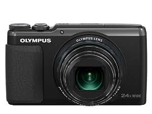 """Olympus SH-60 Appareil photo numérique compact 16 Mpix Écran 3"""" Zoom optique 24x Noir"""