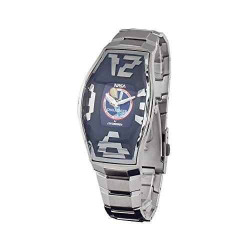 Chronotech orologio analogico al quarzo uomo con cinturino in acciaio inox ct.6281m/15m