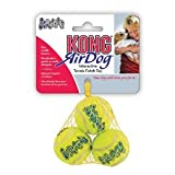 Kong Air Con silbador Pelotas De Tenis Paquete de 3 Tamaño:Mediano Packs:pack de 9