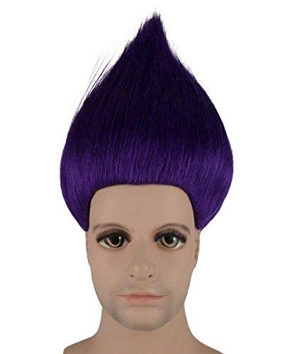 Kostüm Perücke lila anhm-077uk Erwachsene (Dies Ist Halloween-film-zeichen)