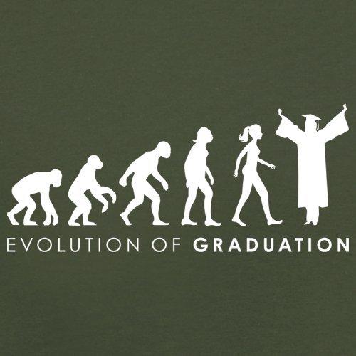 Evolution of Woman - Graduation - Herren T-Shirt - 13 Farben Olivgrün