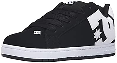 DC Men's Court Graffik Shoe, Black, 10 D D US