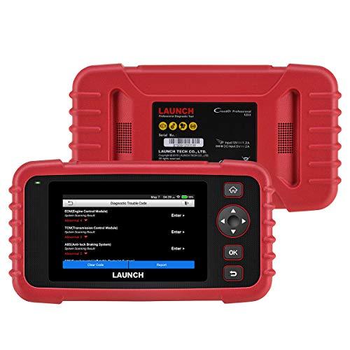 LAUNCH CRP123X Valise Diagnostic Multimarque en Français Lecteur du Code pour Moteur/Transmission/ABS/SRS avec Service AutoVIN & Report d'Inspection Automatique & Mise à Jour Via WiFi