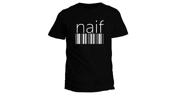 Idakoos Naif barcode Nomi Maschili Maglietta: Amazon.it