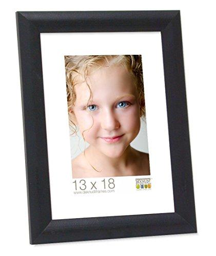 Deknudt Frames S40CL2 Cadre Photo Bois Noir 18 x 24 cm