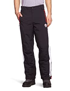 Nebulus Downhill Men's Ski Trousers Black Black-White Size:XXL