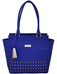 P&L Blue Hand Bag For Women BKL0001