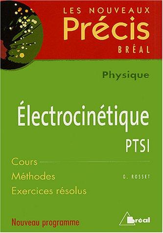 Electrocinétique PTSI