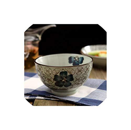 Fruit-Bowls Ceramic Dumpling Plate With Vinegar Dish Household Creative Japanese Tableware Dinner Plate Breakfast Small Dish Fruit Plate,B1 -