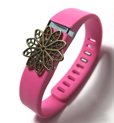 Fashion Wristband for Fitbit Flex with Clasp Wireless Activity-fitness Band Bling Accessory- Dress Outfit.