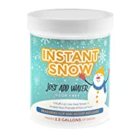 Playlearn 125g Instant Snow Powder - Instant Magic Snow Fake Party Decoration