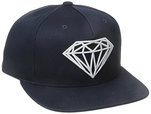 Diamond Supply Co. Herren Brilliant Snapback - Blau - Einheitsgröße Diamond Trucker Hut