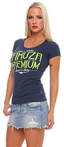 Yakuza Premium Damen T-Shirt GS-2137 Blau