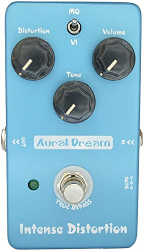 Aural Dream Intense Distortion Brown Sound 2 models 70s distortion Guitar Effect Pedal True Bypass