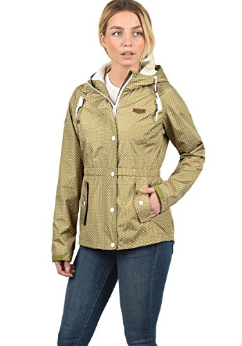 Desires Toni - Impermeable para Mujer, tamaño:S, Color Sand (4073)