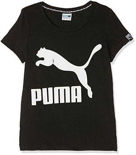 Puma Classics Tee T-Shirt Mixte Enfant, Cotton Black, 12 Ans (Taille Fabricant : 152)