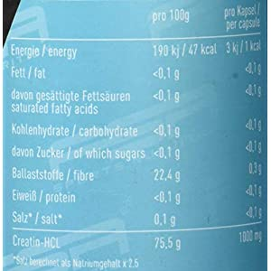 Creatin HCL 150 Kapseln, 1000 mg pro Kapsel, Kreatin Hydrochlorid, Vegan – Made in Germany – FSA Nutrition