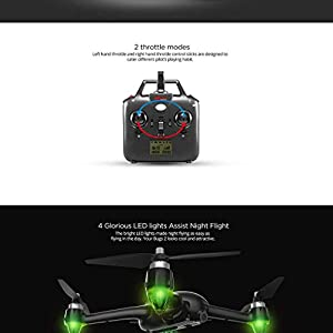 LUFA B2W WiFi FPV RC Quadcopter GPS Drone Brushless Motor Wifi Dron with 1080p HD Camera Rc Helicopter by LUFA