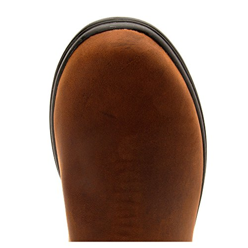 CLARKS Womens Tavoy Cedar Waterproof Wide Calf Boot Tan Leather