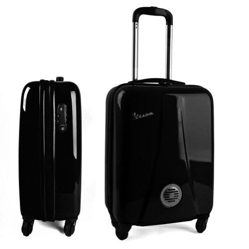 Preisvergleich Produktbild Vespa Trolley Koffer hardcase schwarz