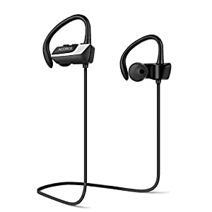 ACORCE Bluetooth Headphones, In Ear Bluetooth 4.1 Wireless Headphones Noise Canceling Earphones IPX5 Water Resistant Sports Headset with Microphone for iPhone and Android