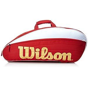 WILSON IV 12er Racketbag Schlägertaschen rot 750 x 40 x 33 cm, 70 Liter