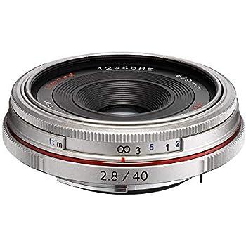 Pentax DA 40 mm F2.8 AL LTD HD: Amazon.es: Electrónica