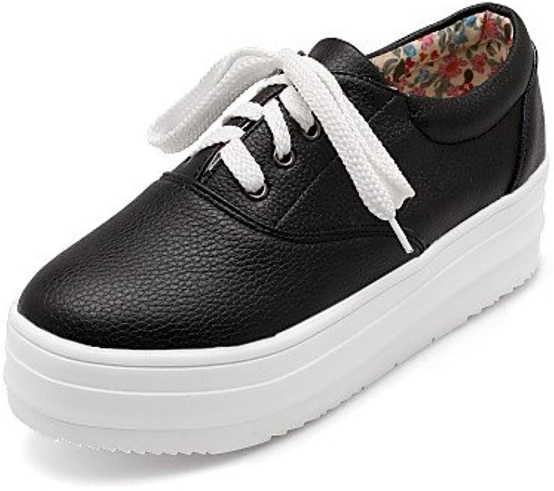 NJX/ 2016 Zapatos de mujer - Plataforma - Punta Redonda / Punta Cerrada - Oxfords - Oficina y Trabajo / Casual...