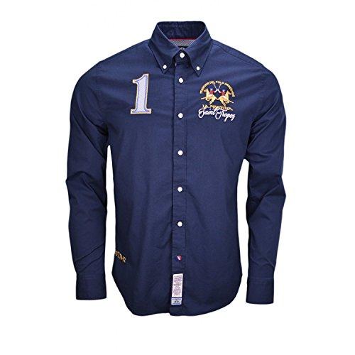 chemise-la-martina-saint-tropez-bleu-marine-pour-homme