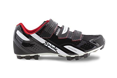 Spiuk Rocca MTB Sportschuhe, unisex schwarz / weiß
