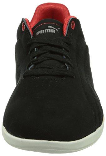 Puma Gigante Lo Sf, Baskets mode homme Noir (Black-Black-Rosso Corsa 01)