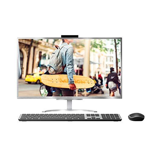 MEDION E23401 60,5 cm (23,8 Zoll) Full HD All in One Desktop Computer (Intel Core i5-8250U, 8GB DDR4 RAM, 1TB HDD, 256GB PCIe SSD, WLAN, Webcam, Win 10)