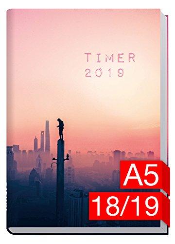 Chäff-Timer Classic A5 Kalender 2018/2019 [Urban Explorer] 18 Monate Juli 2018-Dezember 2019 - Terminkalender mit Wochenplaner - Organizer - Wochenkalender