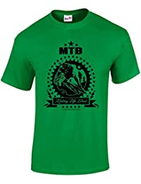 T Shirt MTB Kicking Up Dust cadeau tshirt imprimé MTB
