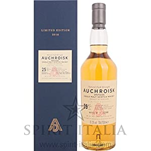 Auchroisk 25 Years Old Natural Cask Strength Limited Edition GB 51,20 % 0.7 l. by Verschiedene