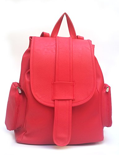 Vintage Women\'s Backpack Handbag (Red,Bag 162)