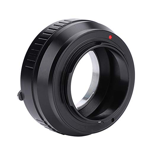 EBTOOLS EXA-FX Manueller Fokussieradapterring für Exakta Objektiv für Fuji X Mount Mirrorless Kameras (Schwarz)