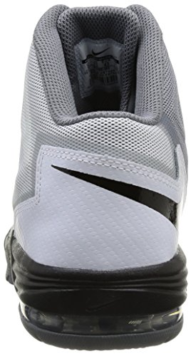 Nike Air Max Stutter Step 2, Baskets mode homme Noir (White/Black-Stealth-Cool Grey)