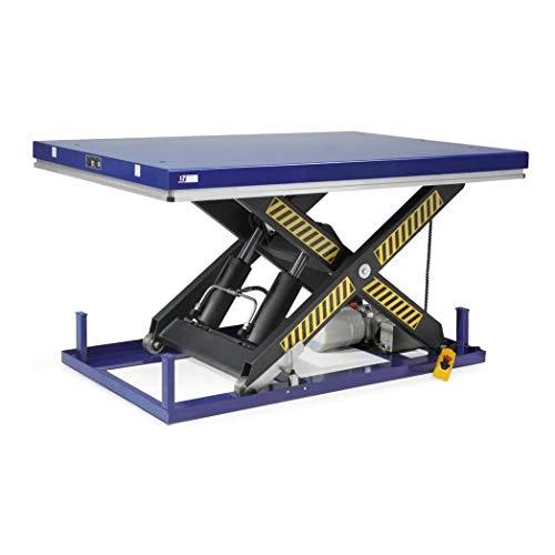 Disset Odiseo MSA1315 Elektrohydraulische Tische, einfache Schere, Blau Ultramar, 30-35 Zeit, 1700 mm x 1000 mm x 240 mm/1300 mm