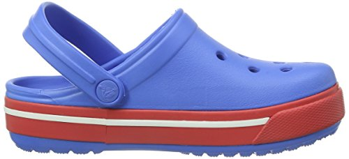 Crocs Band, Sabots mixte enfant Bleu (Varsity Blue/Red)