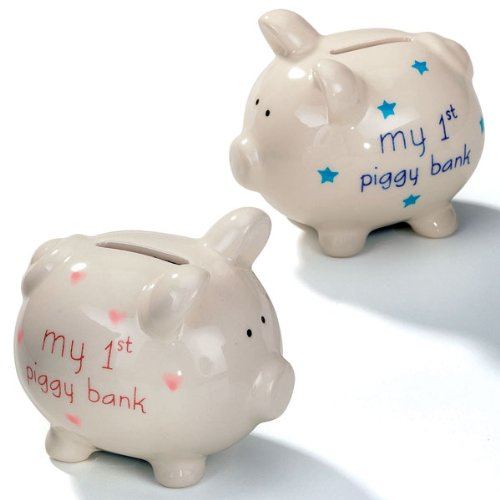 Transomnia My First Piggy Geld Bank – Pink