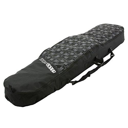 Snowboardtasche Snowboard Schutz Bag Sack Tasche Boardbag Boardsack Skitasche (D11, 155 cm)