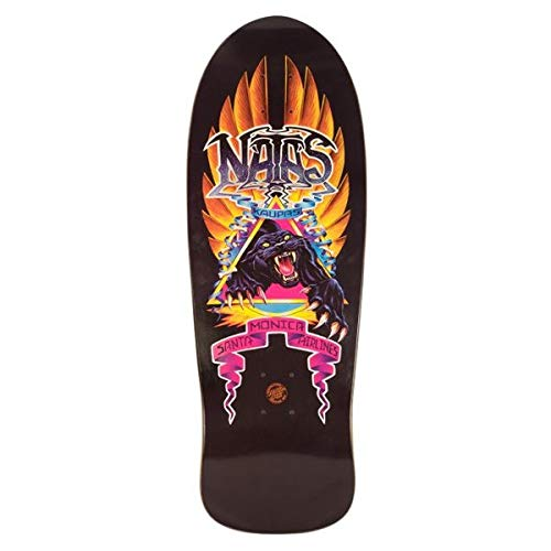 Santa Cruz x Edmiston Skateboard Deck Natas Panther Reissue