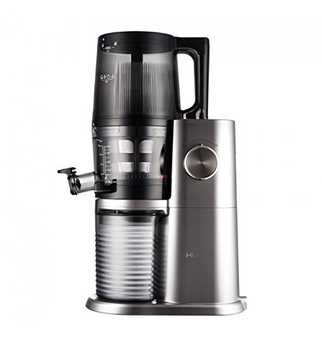 hurom-one-stop-h-ai-slow-juicer-200w-platinum-stainless-steel---juice-makers-slow-juicer-platinum-stainless-steel-60-rpm-0-5-l-1-4-m-rotary