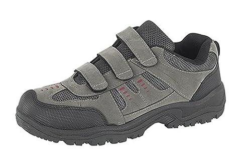 Mens DEK ASCEND Triple touch fastening Trek & trail Shoe GREY size 8 UK
