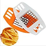 Unique Store Wavy Edged Plastic and Stainless Steel Peeler and Slicer, 22x6cm, Multicolour