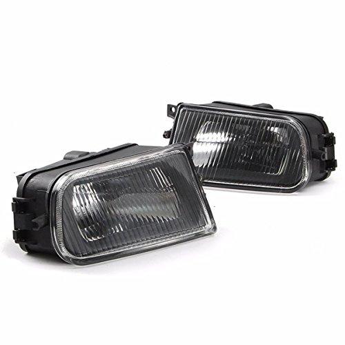 9700 Cover (Paar Schwarze Nebelscheinwerfer Stoßstange Lamp Cover Gehäuse)