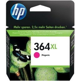 HP 364XL Cartouche d'encre d'origine à grande capacité d'impression Magenta 6 ml