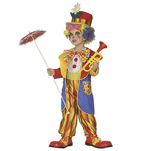 Piccolo Clown - Costume Bambini 4-5 Anni